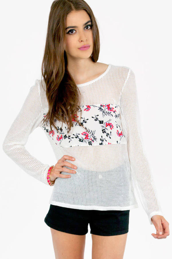 Nettie Floral Banded Top