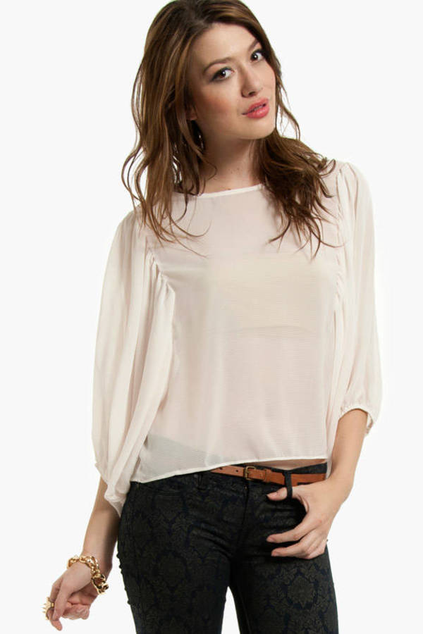 Puffed Up Blouse