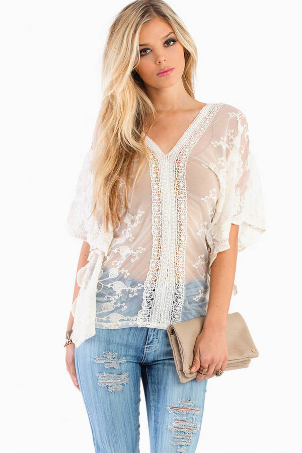 Sariya Sheer Top