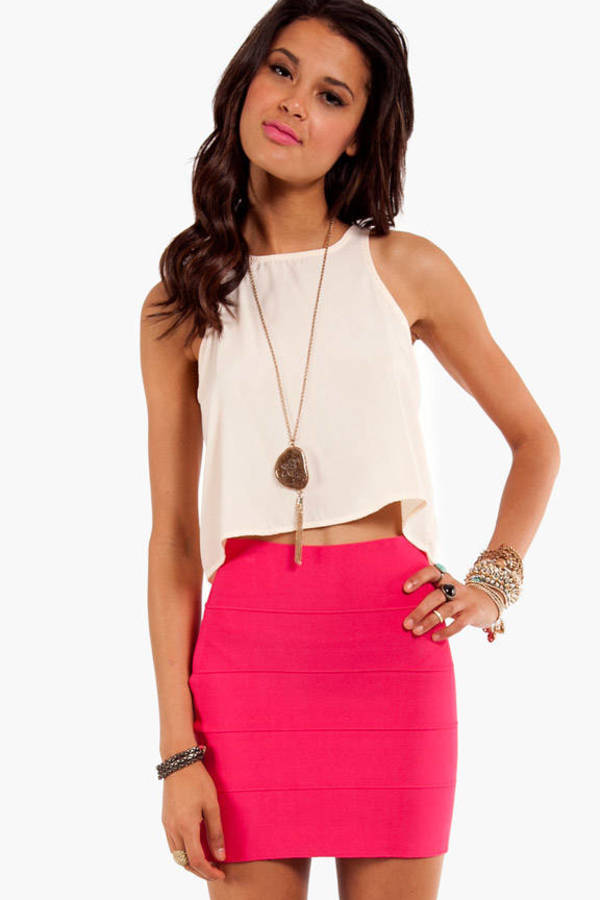 Honey Punch Short and Sweet Racerback Tank Top