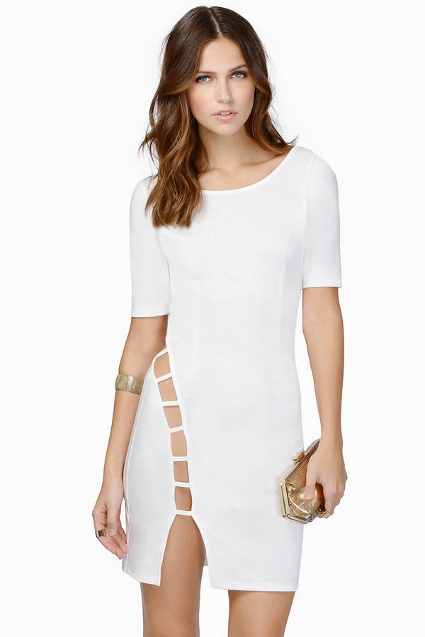 Take A Peek Bodycon Dress