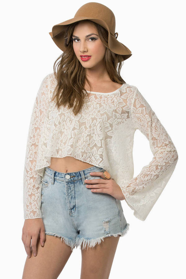 Virtuous Lace Top