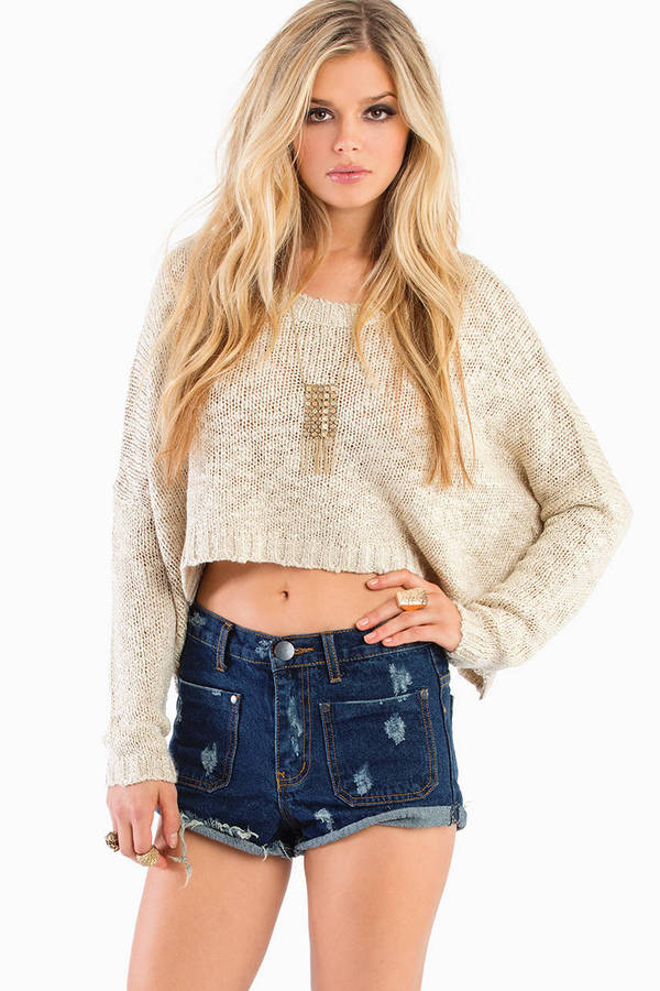 Robertson High Waisted Denim Shorts
