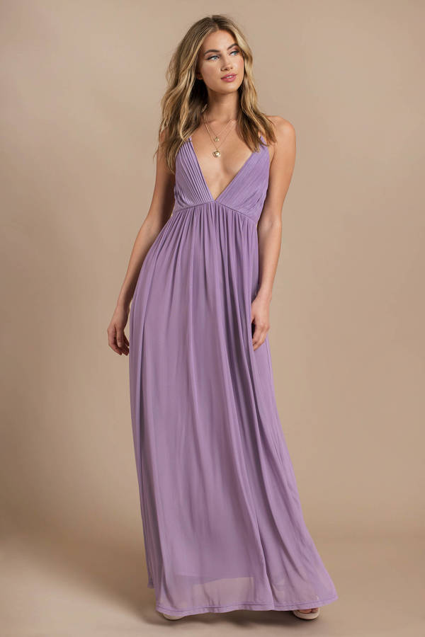 aed2dc29929 Lavender Maxi Dress - Cami Maxi - Formal Lavender Dress - C  73 ...