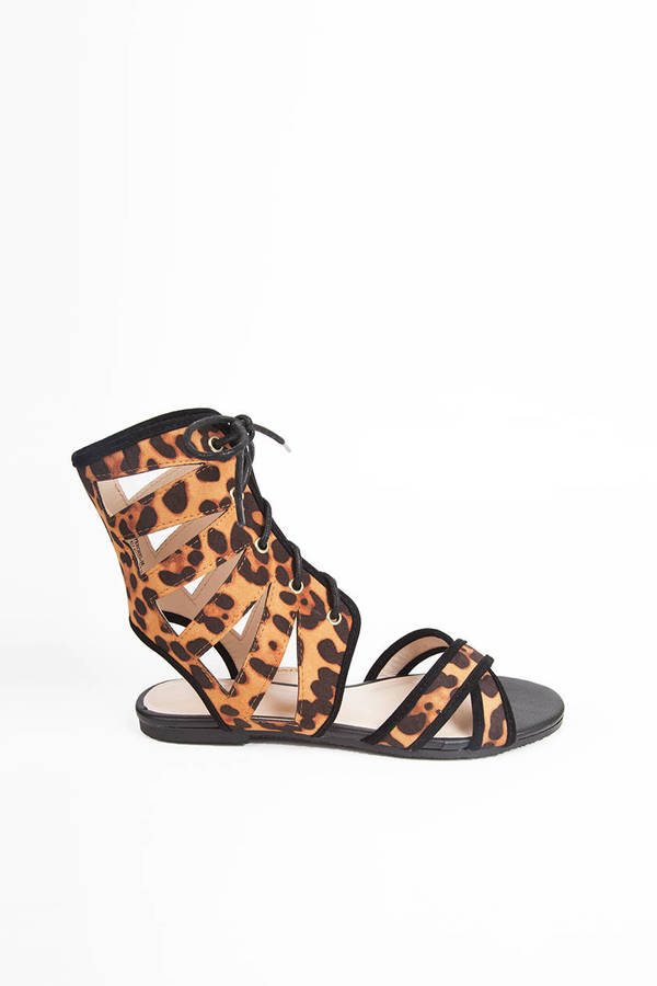Brace Up Gladiator Sandals