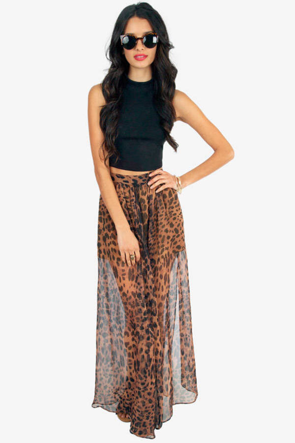Jungle Fever Maxi Skirt