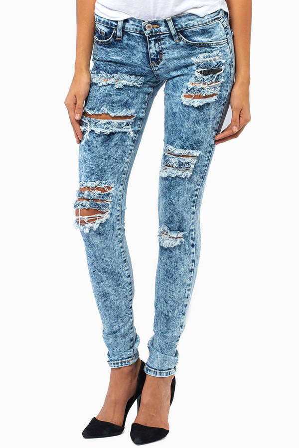 Flying Monkey Riptide Skinny Jeans