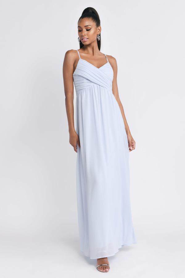 0bb4ad48c9 Light Blue Dresses | Baby Blue Dress, Periwinkle, Pale Blue | Tobi
