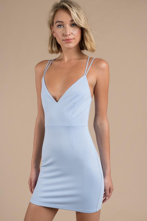 ac47c5f878 Sexy Whitedress - Strappy Back - Plunging - Whitedress -  27