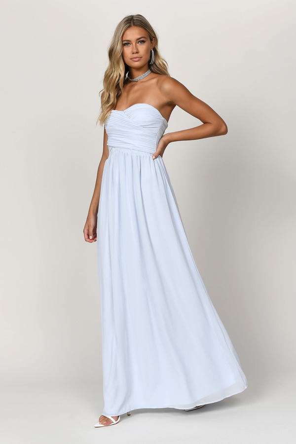 Flowy Dresses | Long Sleeve Maxi Dresses, White Maxi Dress | Tobi