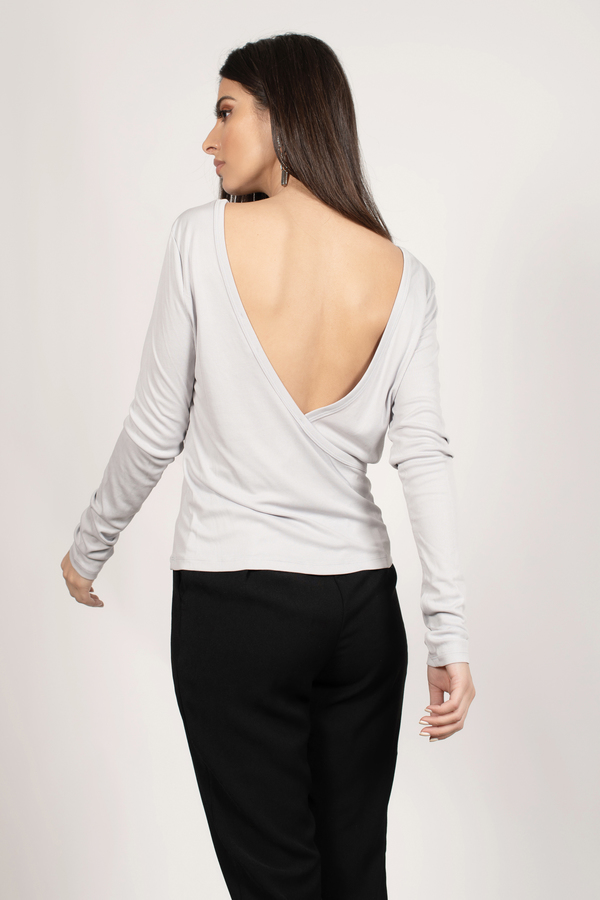 Low-Back Tops
