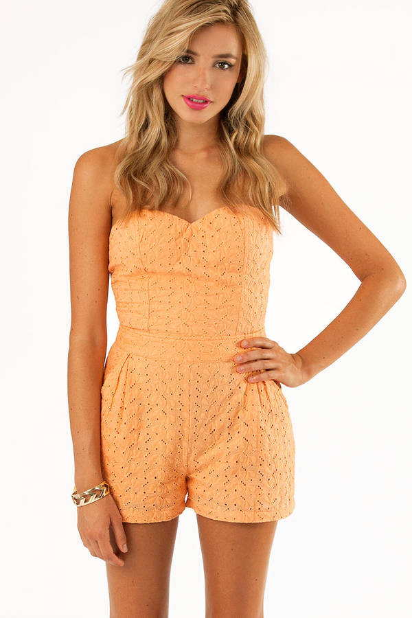 Sweet As Day Romper