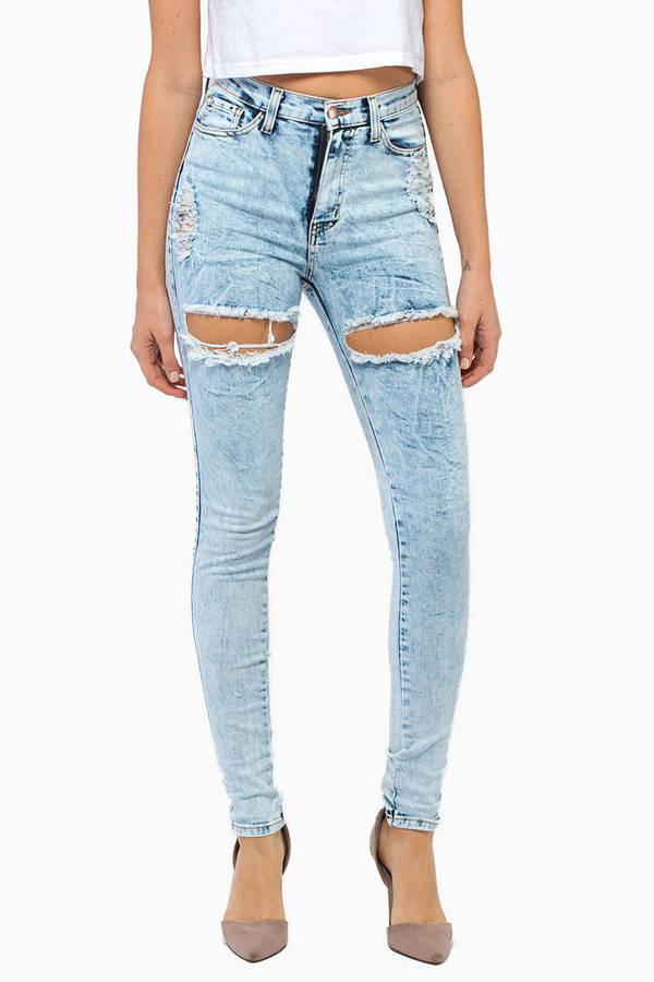 Knee-Deep Skinny Jeans