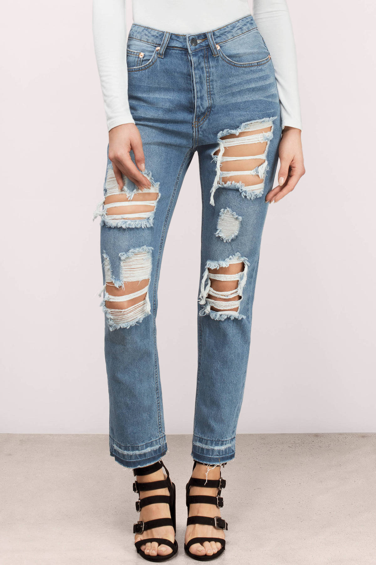 High waisted skinny jeans cheap – Global trend jeans models