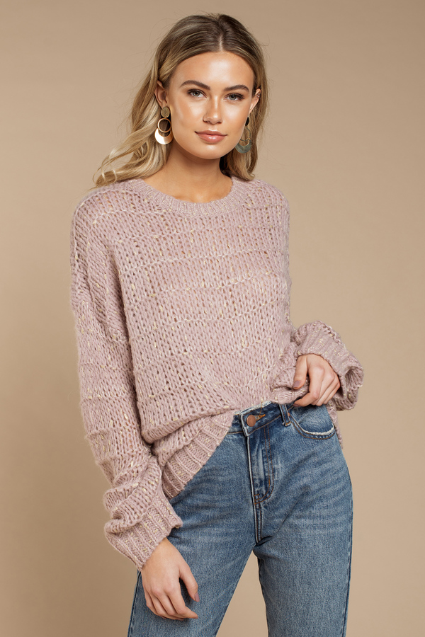 4667f1470513 Oversized Sweaters | Cute Sweaters, Fall Sweaters, Cable Knit | Tobi