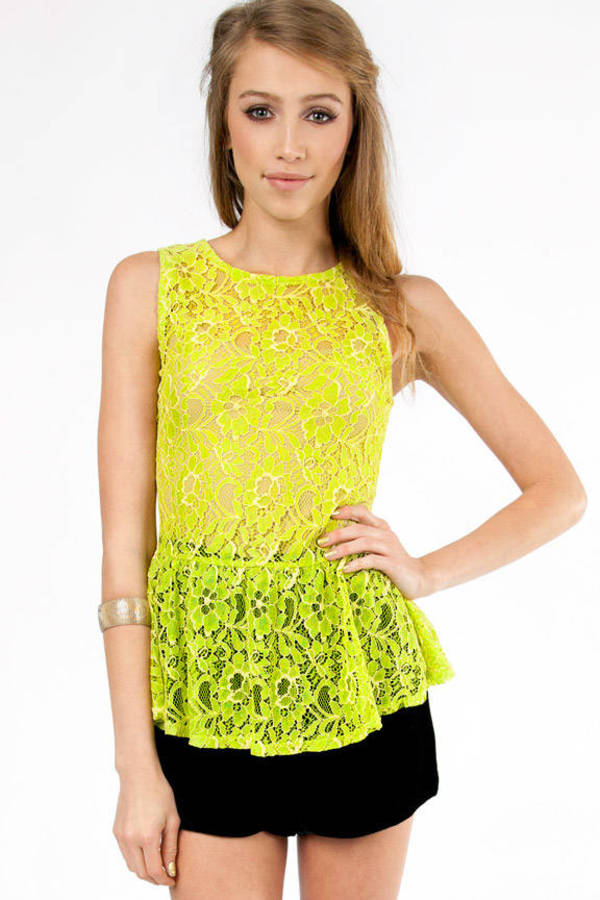Don't Mesh With Me Top