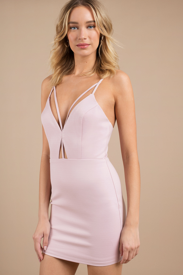 Cut Out Dresses | Side Cut, Low Cut, Lace, White, Black, LBD | Tobi