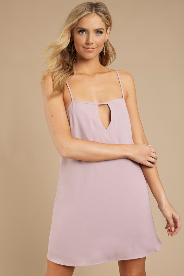 Another Dimension Mauve Shift Dress