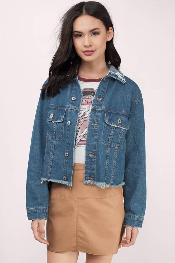 Denim Jackets | Jean Jackets, Denim Jackets For Women | Tobi