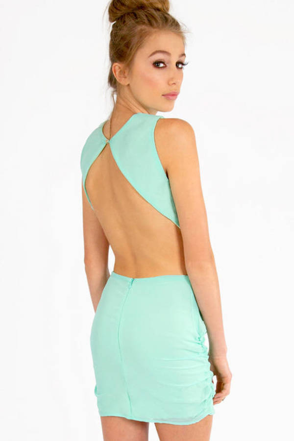 Cindy Open Back Dress