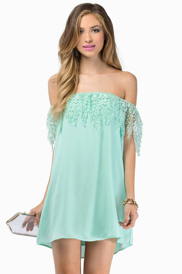 Esmerelda Off Shoulder Dress