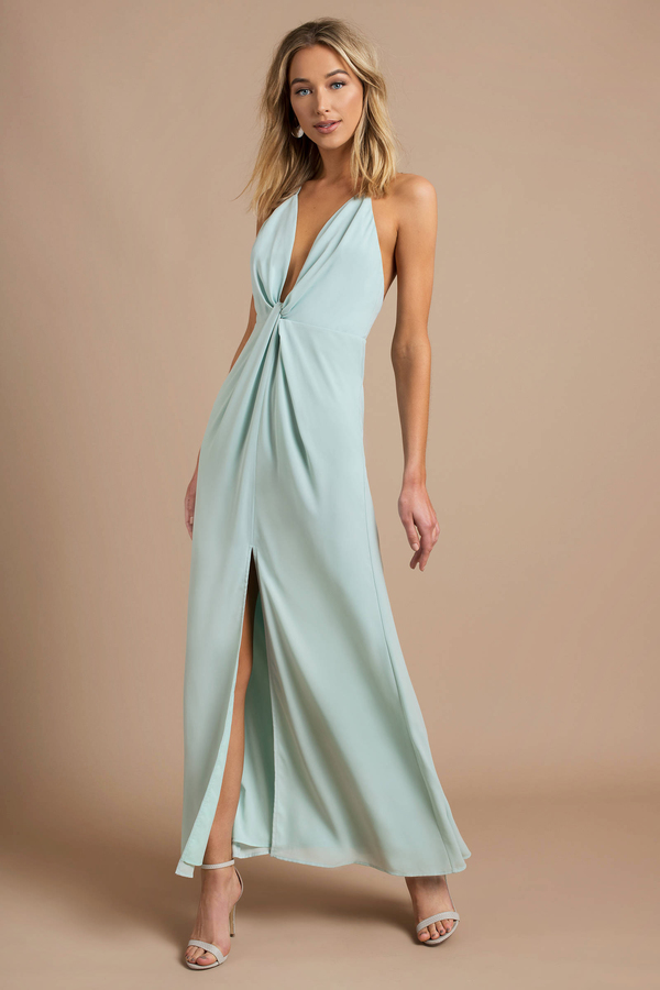 Pretty Mint Maxi Dress Long Dress Mint Semi Formal Dress Nz