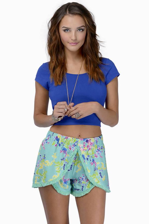Beauty In Tassels Shorts