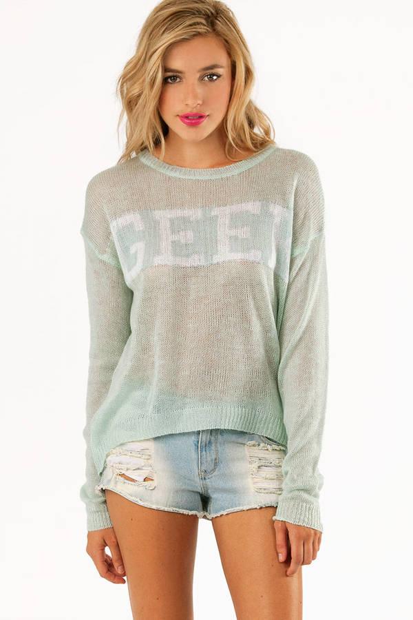 Geek Knit Sweater