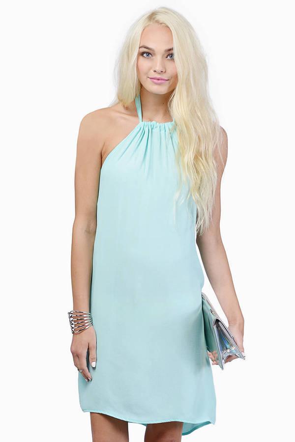 Haute Heat Halter Dress
