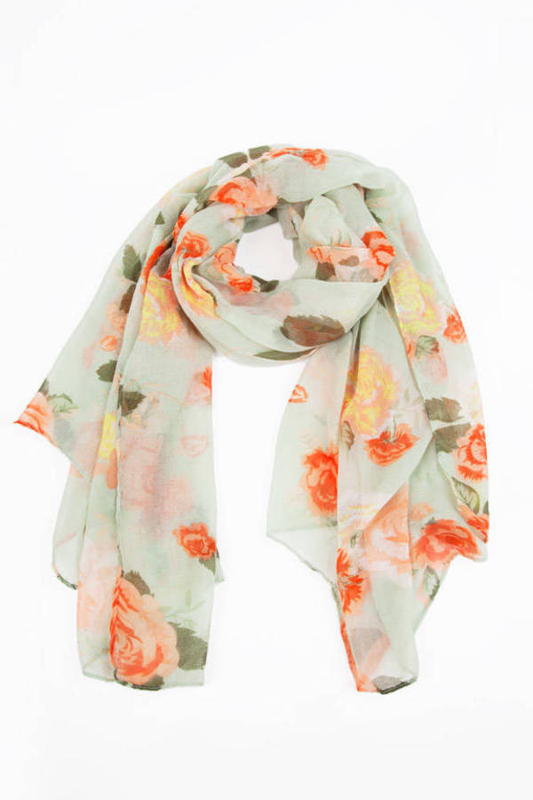 Soft As Petals Scarf