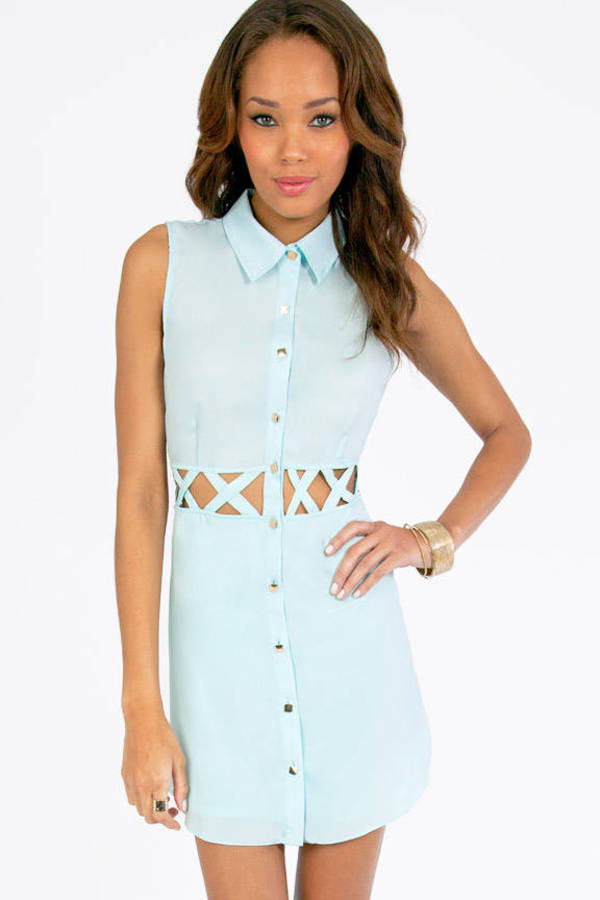 Triple X Shirt Dress
