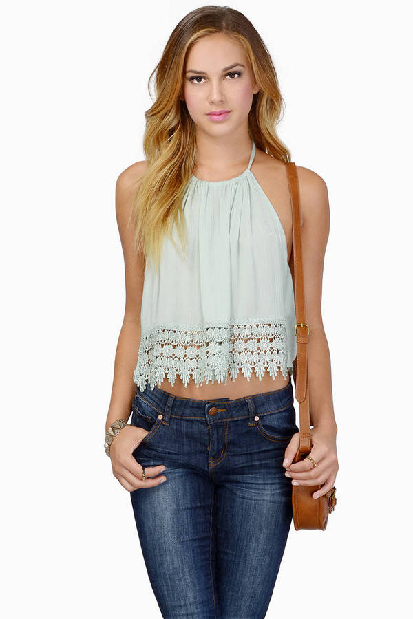 Trish Trim Halter Top