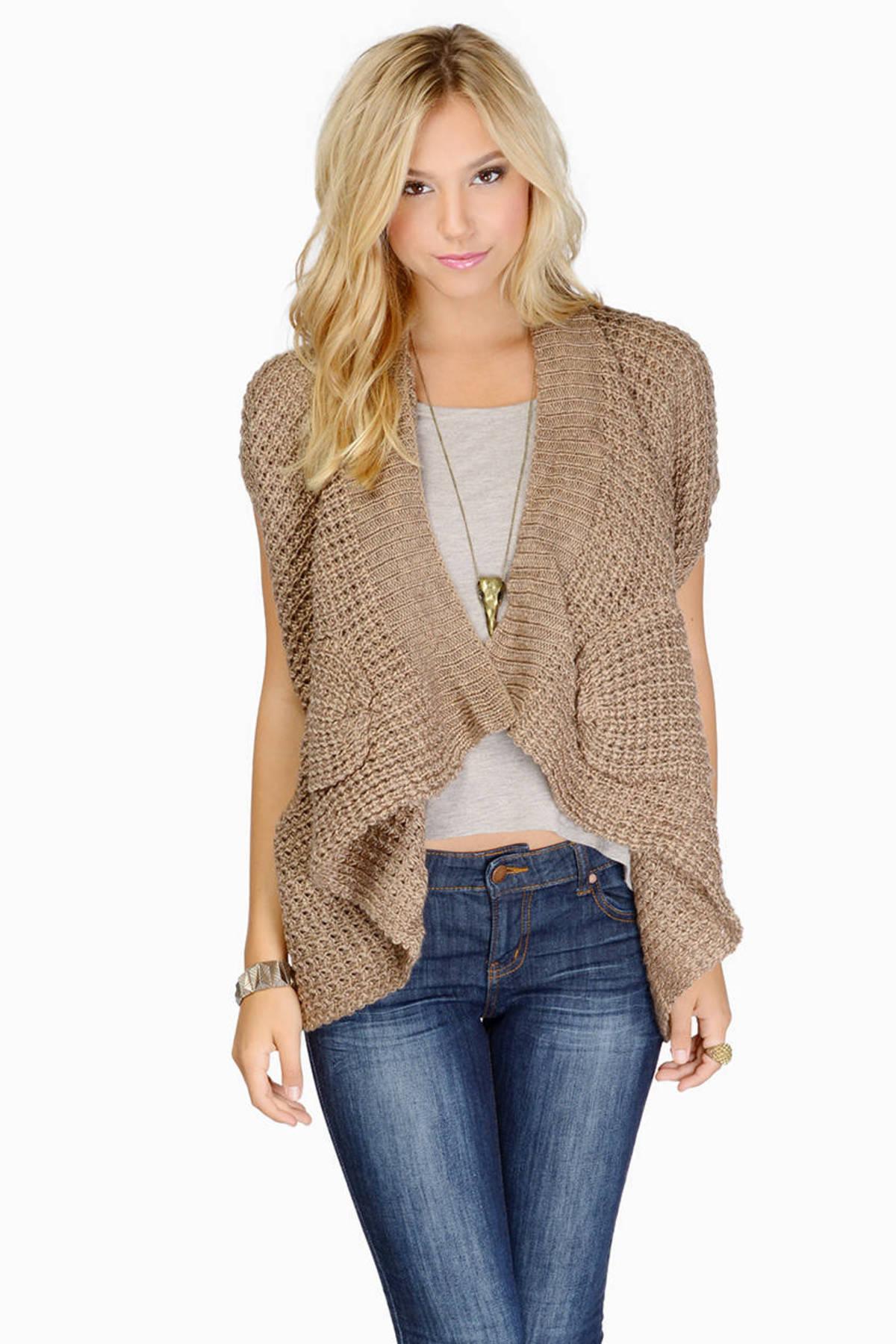 Short Sleeve Cardigan | Shop Short Sleeve Cardigan at Tobi | Price ...
