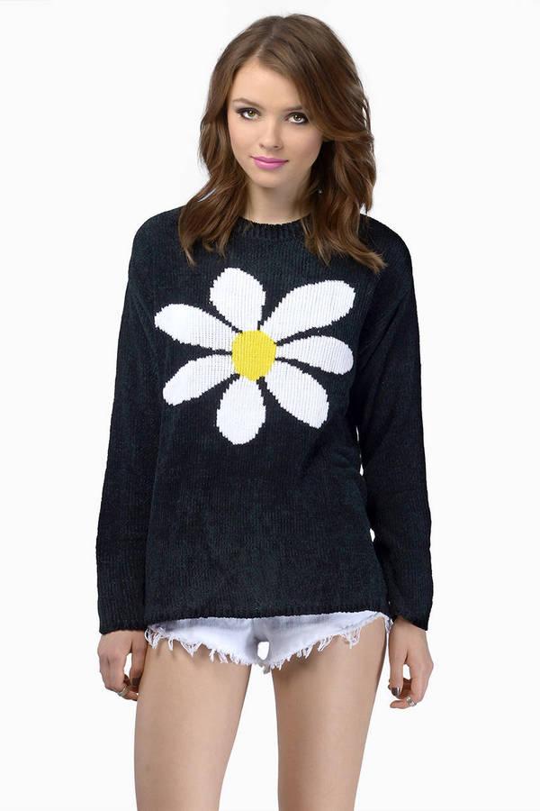MINKPINK Happy Daisy Knit Sweater