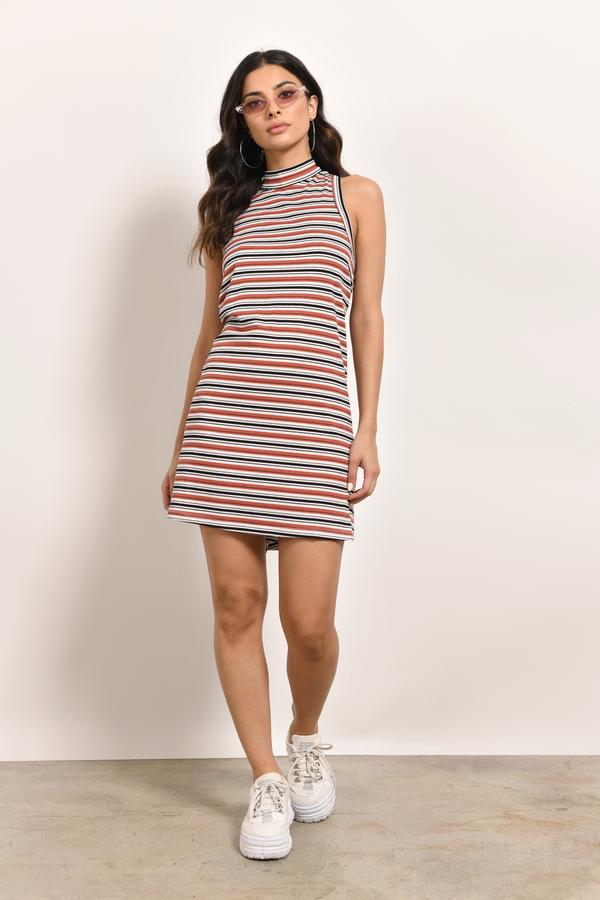 d1a8cdc8a2 Striped Dresses, Multi, Stuck On You Striped Shift Dress, ...
