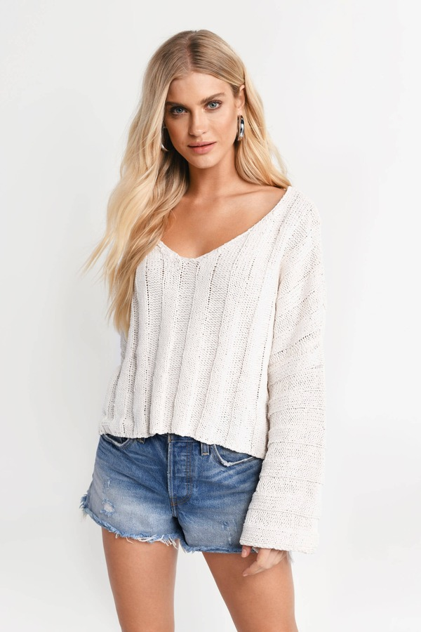 2f730b5eb5f2 Sweaters for Women | Oversized Sweaters, Cable Knit Sweater | Tobi