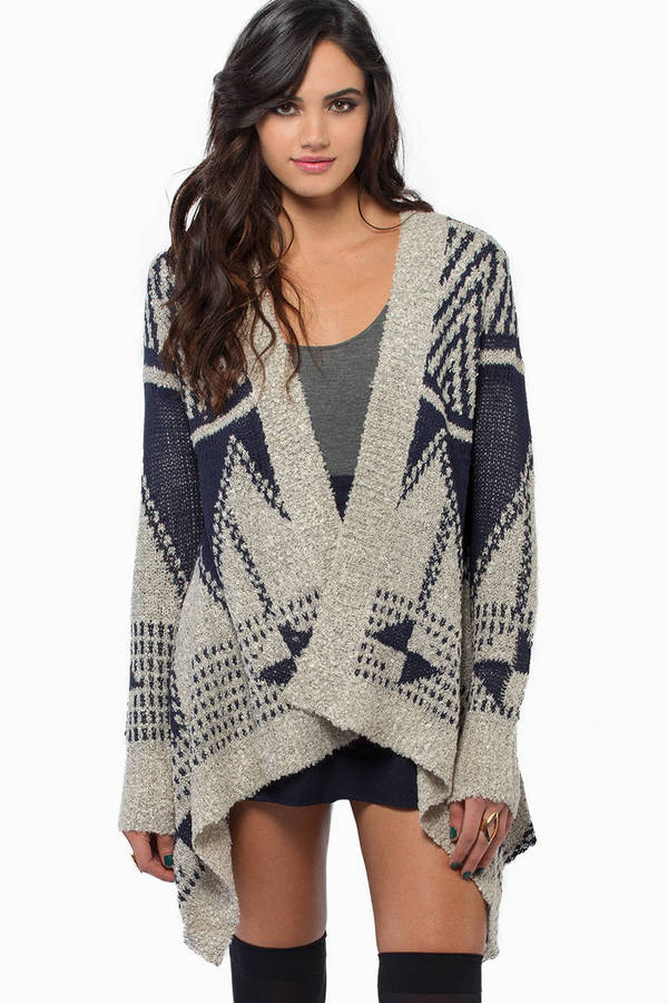 Giving Pointers Cardigan