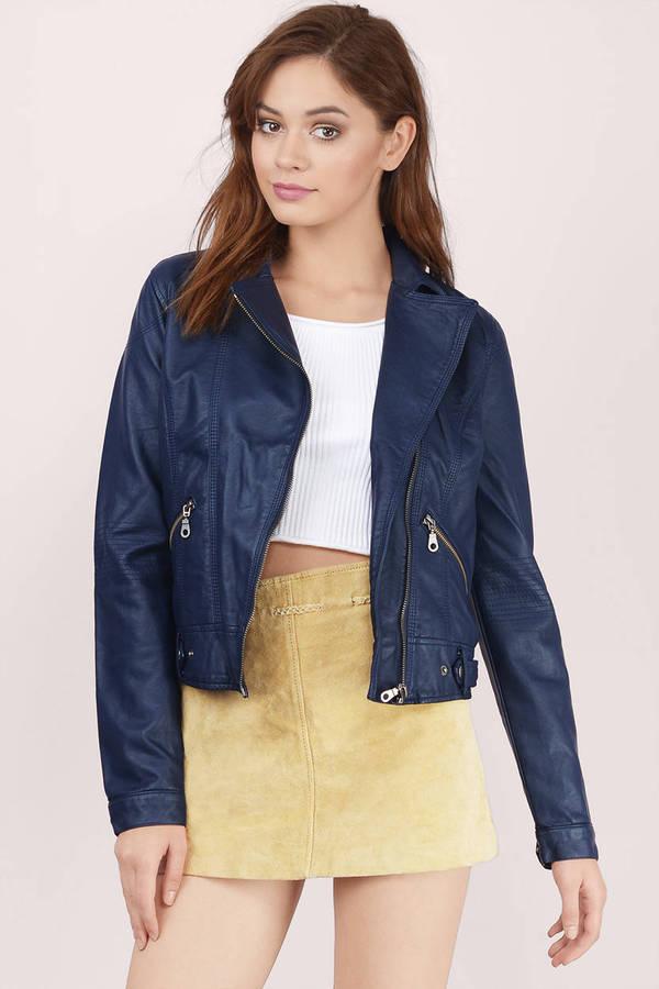 42145df606ae Women's Faux Leather Jackets | Biker Jackets, Moto Jacket | Tobi