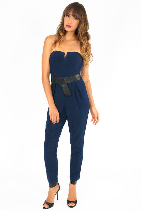 Mika Belted Jumpsuit
