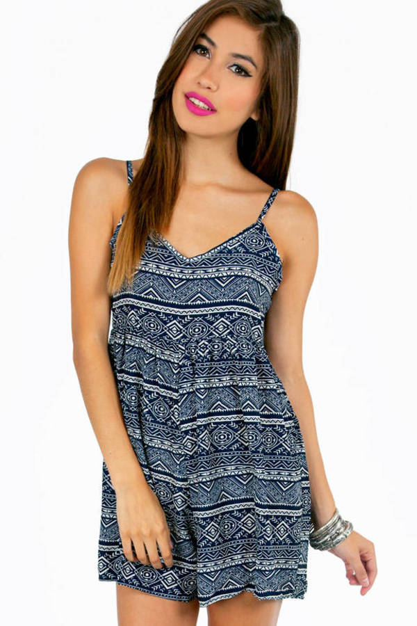 So Very Tribal Romper