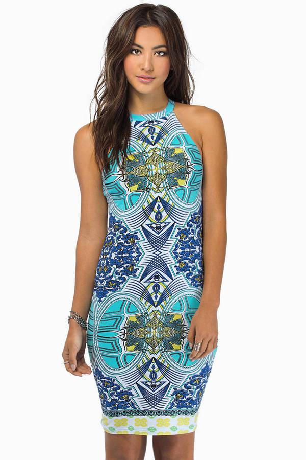 Fairground Aurora Borealis Dress