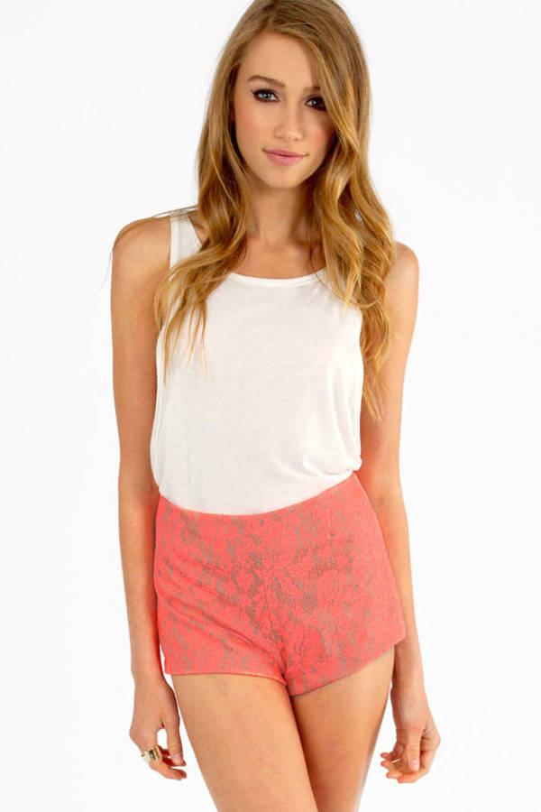 High Hopes Lace Shorts