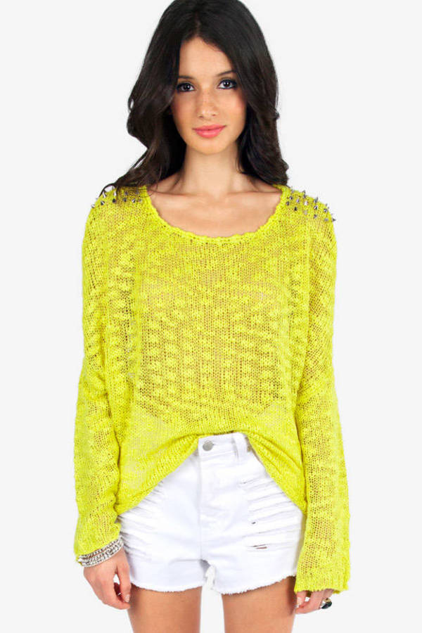 Reverse Jackson Studded Sweater