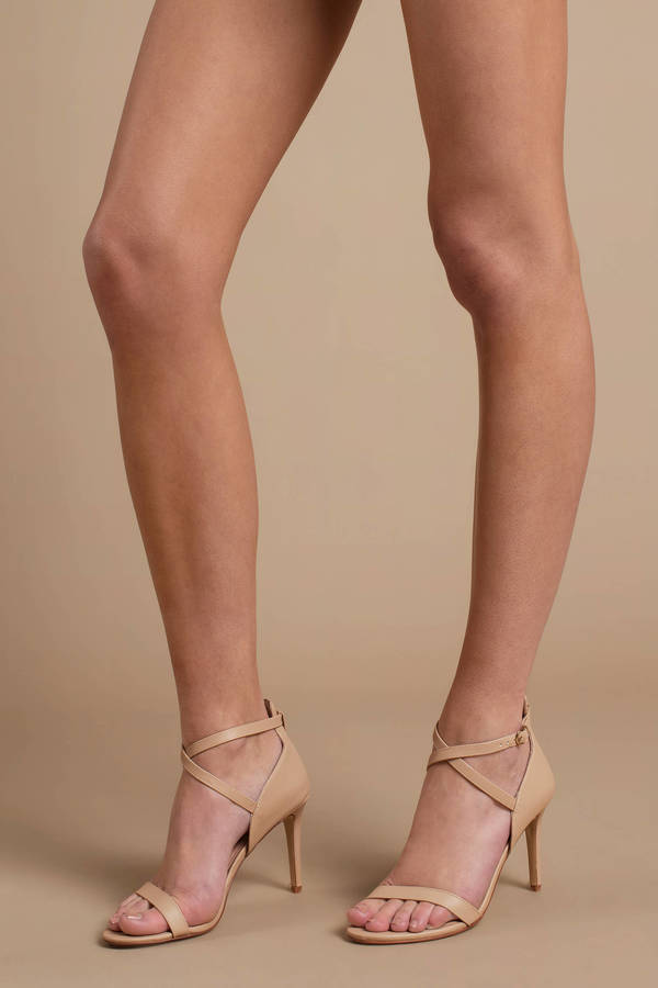 d67e0880e7f Chinese Laundry Chinese Laundry Sabrie Nude Strappy Stiletto Heels ...