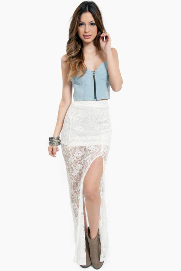 Lulu Lace Skirt