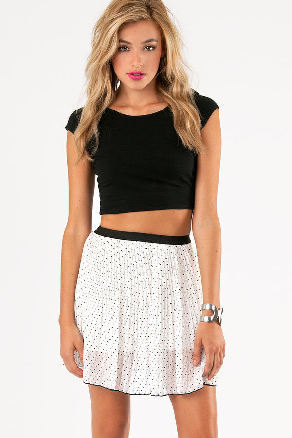 Polka Hearted Skirt