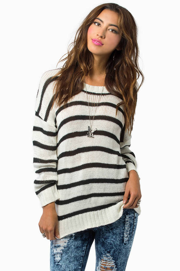 Stripe with Purpose Sweater
