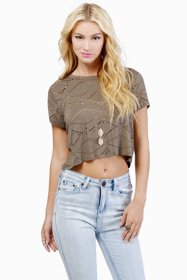 Burn Em Alive Crop Top