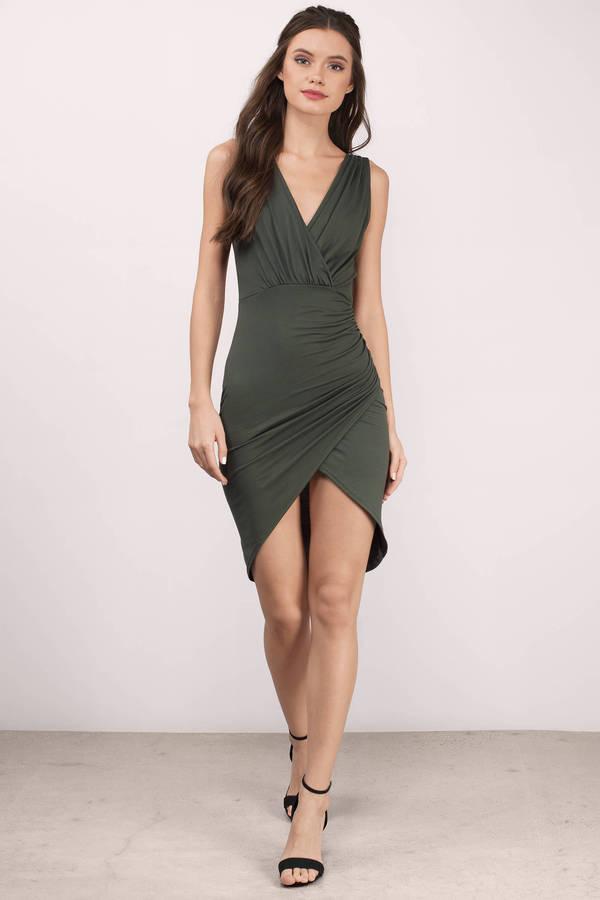 Green Dresses | Dark Green Dresses, Emerald Green Prom Dress | Tobi