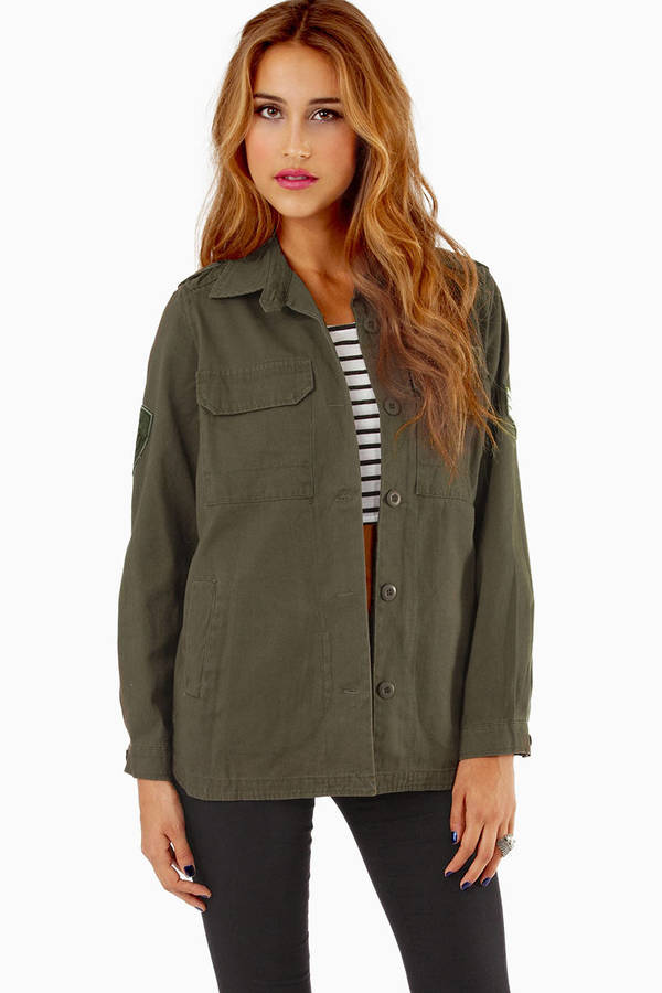 Navie Carolina Cargo Jacket